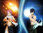 Fairy tail Natsu and Gray