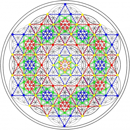 Sacred Geometry - flower, seed, Sacred, om, life, Geometry