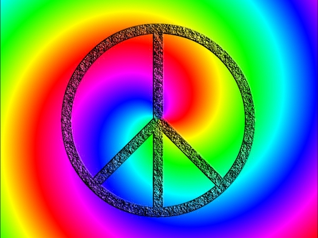 peace signs - wallpaper, signs, rainbow, peace