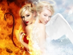 *** Angel and Devil Woman ***