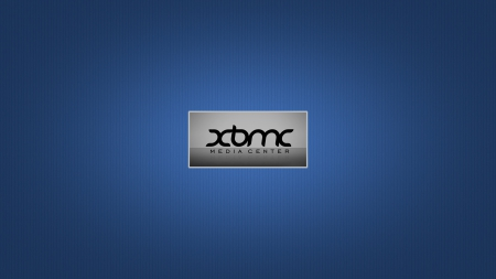 xbmc - media, wallpaper, hd, xbmc, blue, centre