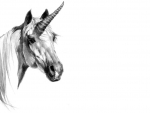 Unicorn Pencil Drawing 1