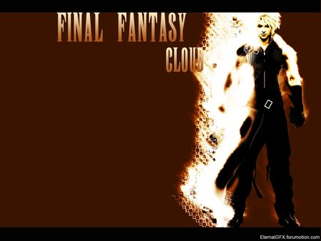 Final Fantasy Cloud - movie, dissidia, cloud, fight, anime, finalfantasy