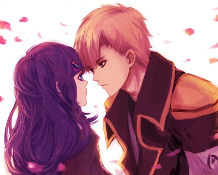 Couples anime other anime background wallpapers - Image manga couple ...
