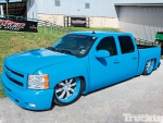 All Blue Chevy