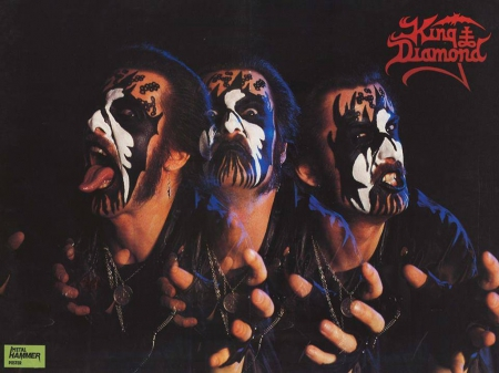 King Diamond - Diamond, Metal, Mercyful Fate, King Diamond