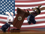 Rayman Raving Rabbids - Speech Time