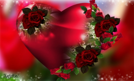 heart in flower  flowers  nature background wallpapers on, Beautiful flower