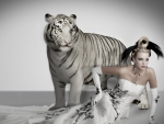 Bride and White Tiger
