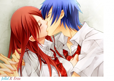 Jellal x Erza - Other & Anime Background Wallpapers on ...