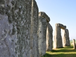 Up Close and Personal with the standing stones of Stonehenge England