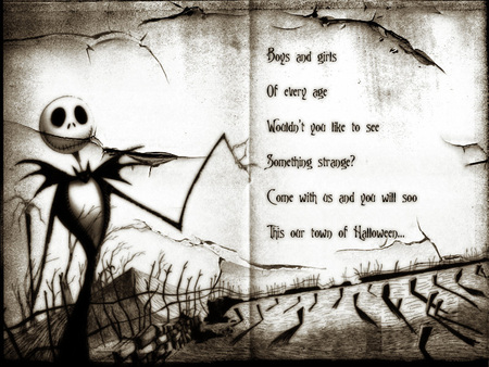 Nightmare Before Christmas - nightmare before christmas, dark