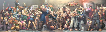 Street Fighter - street fighter, games