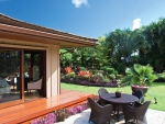 Exterior and Tropical Garden of Contemporary Home in Kauai Hawaii