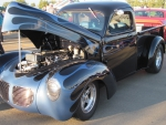 1940 Willys truck with a Corvette Engine