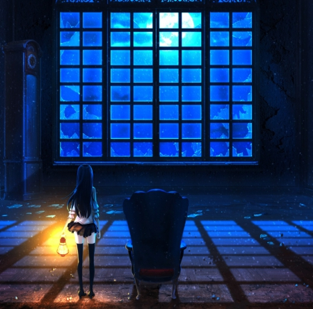 Broken window other anime background wallpapers on - Anime scenery wallpaper laptop ...