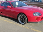 Toyota Supra Mk IV with custom rims