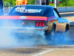 1970 Ford Mustang drag car