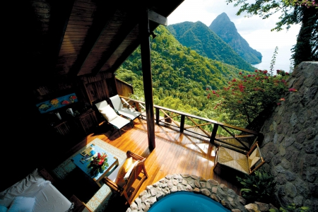 Beautiful Mountain Retreat In St Lucia Paradise Caribbean