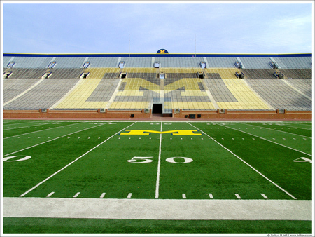 michigan football field wallpaper - photo #5