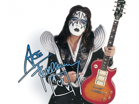 Ace Frehley of KISS - Space, Lead, Ace, Guitar