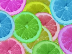 colorful slices