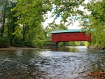 Bridge At The Green Covered Bridge