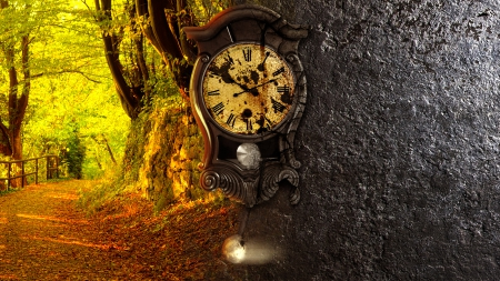 Broken clock wallpaper  Clock - 3D and CG & Abstract Background Wallpapers on Desktop ...