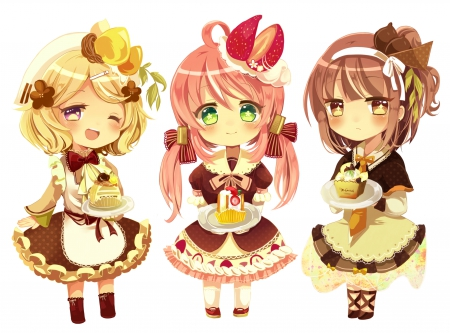 Cute Chibi - Anime Girls Wallpapers and Images - Desktop ...