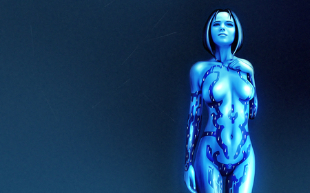 Cortana from Halo - halo 2, halo, cortana, master chief, halo 3, ai, artificial intelligence