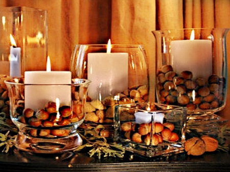 Autumn Candle Decoration Candles Wallpapers And Images Desktop Nexus Groups