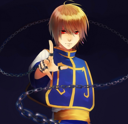 Hunter X Kurapika Chain Wallpaper