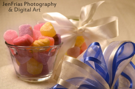 Candy Gummy - abstract, bowl, sweet, candy