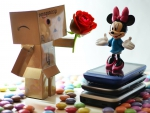 Danbo loves (Magic)Minnie! :)