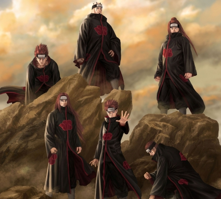 Six paths of pain naruto anime background wallpapers - Emotional boy wallpaper ...
