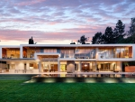 Contemporary Mansion California