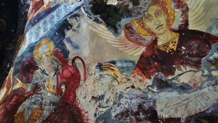 sumela monastery - mountain, the frescoes, history, construction