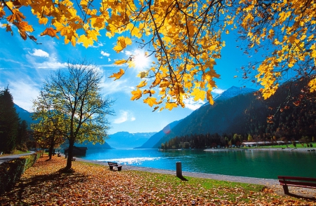 Autumn River Rivers Nature Background Wallpapers On Desktop