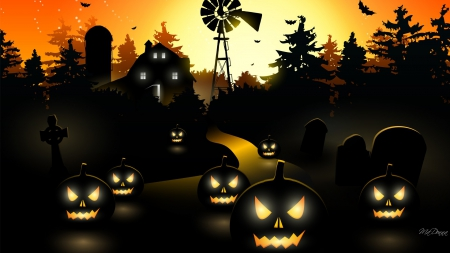 haunted halloween farm - Farm Halloween