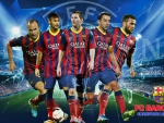FC Barcelona Champions League wallpaper 2013-2014