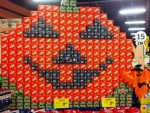Pepsi Crush Halloween Display