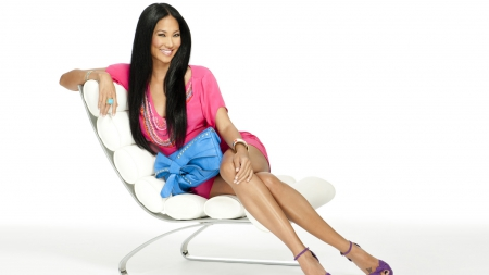 Kimora Lee Simmons gorgeous brunette - cute, teen, hot, sexy