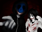 Eyeless Jack and Jeff