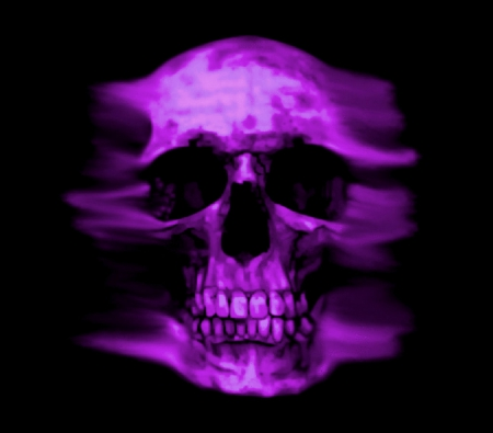 Purple Skull - Mind Teasers & Abstract Background ...