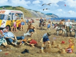 Old English Beach Holiday