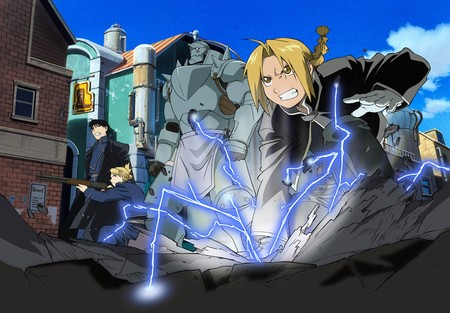 Full Metal Alchemist - riza, full metal alchemist, alphonse, edward, roy, anime