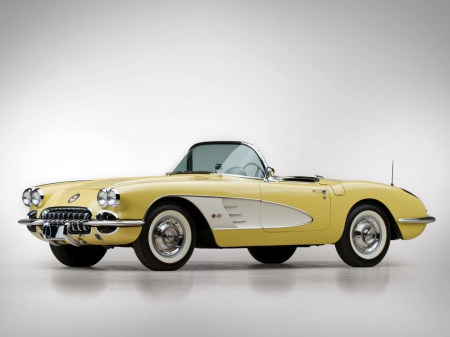 1962 Chevrolet Corvette convertible - 04, 10, 2013, car, picture, chevrolet