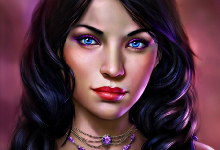women fantasy eyes blue - photo #6