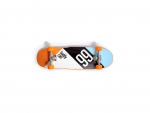 skateboard orange and blue