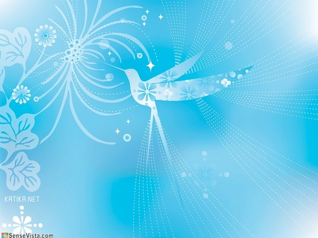 Hummingbird Vector Art - azul, bird, humming, serene hummingbird, delightful hummingbird